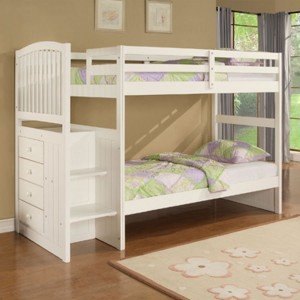 Bunk-Beds-Design-for-Kids-Furniture-Angelica-by-Powell-Company-Twin-Bunk-Bed