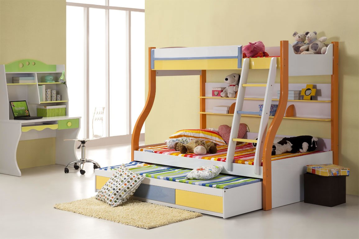 Choosing best bunk beds for your kids wikiperiment for Children bedroom furniture