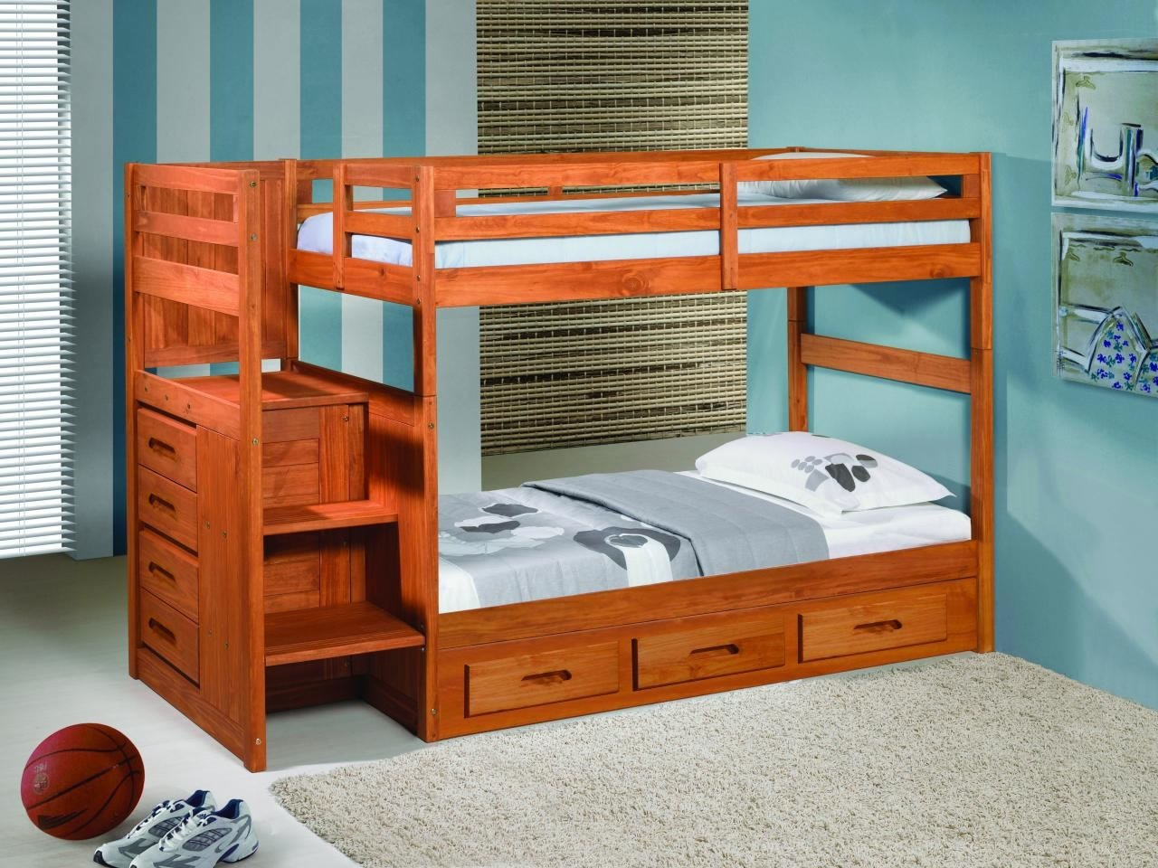 kids double bunk bed - Home Design And Decor