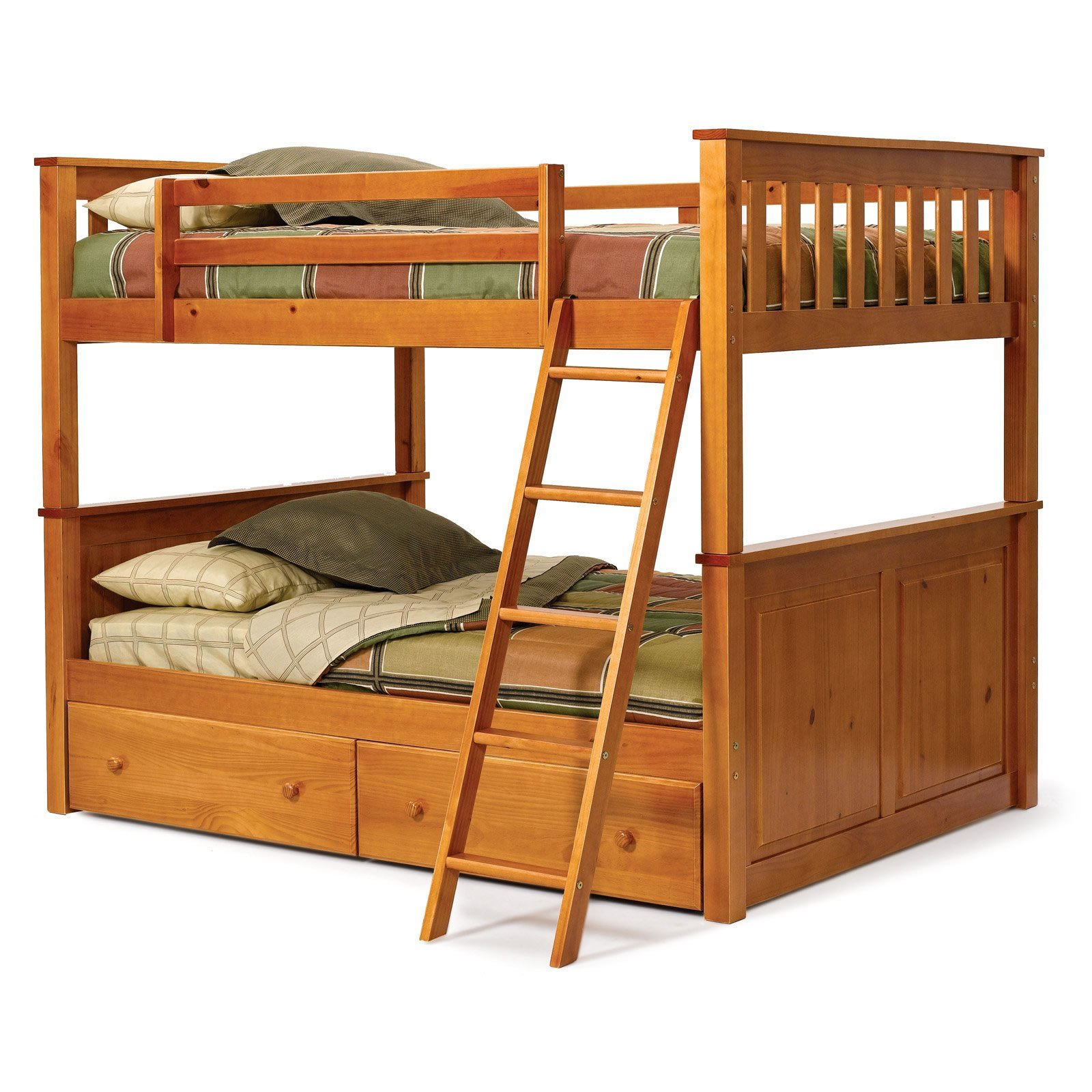 Choosing best bunk beds for your kids wikiperiment for Wooden bunkbeds
